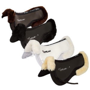 Trifecta Cotton Half Pad with Fleece Rolls